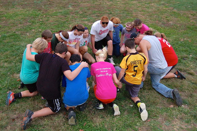 Youth Praying